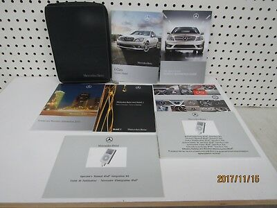 2010 Mercedes Benz C Class Owners Manual Set    FREE SHIPPING