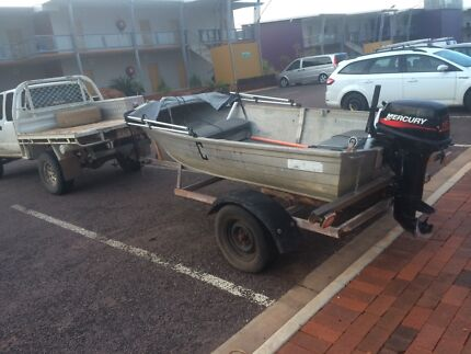 3.7m Stacer 15hp Mercury  Leanyer Darwin City Preview