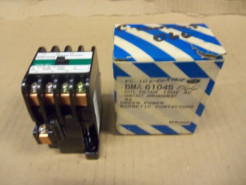 New Matsushita FC10-4A-AC FC104AAC BMA6-10-4-5 BMA61045 120V  Magnetic Contactor