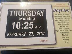 DayClox The Original Memory Loss Digital Calendar Day Clock with Extra Large ...