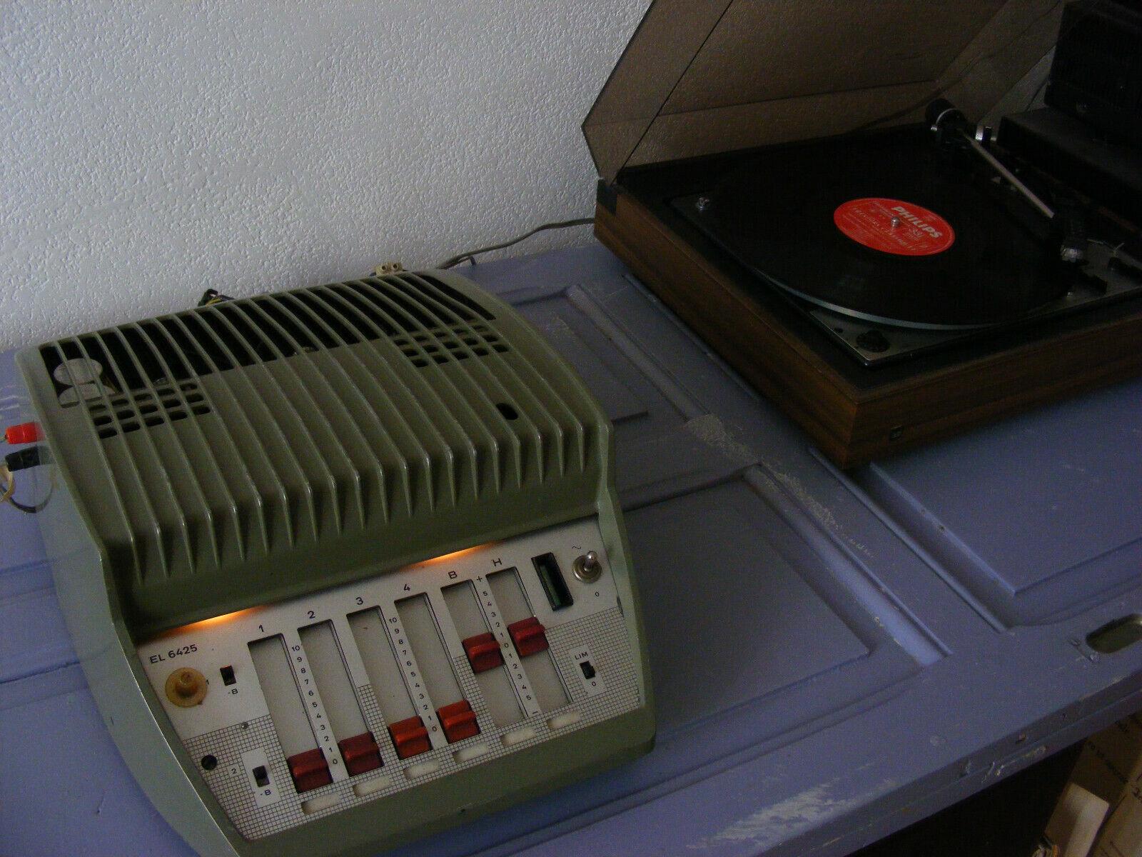 Ampli à tubes à lampes phillips el6425 vintage hifi