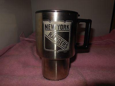 (1 new york rangers vintage stainless steel coffee mug)