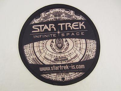 STAR TREK INFINITE SPACE FALT FRISBEE + TASCHE ENTERPRISE 2011 CBS STUDIOS INC.