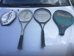 2 tennis rackets for $15