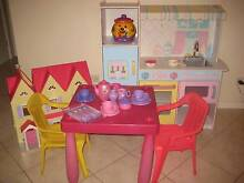 Play kitchen, doll house, childrens table and chairs Catherine Field Camden Area Preview