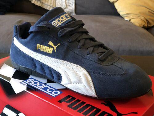 Speedcat OG Sparco Motorsport Shoe Blue size 10 US NEW With Box