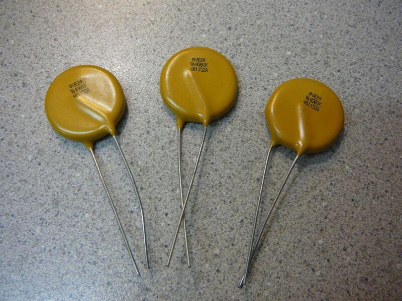 THOMSON Metal Oxide Varistor (MOV) 470V 6.5KA Disc 24mm  **NEW**  Qty.3