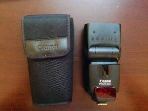 CANON SPEEDLITE 430EX II + CASE. USED ONCE North Sydney North Sydney Area Preview