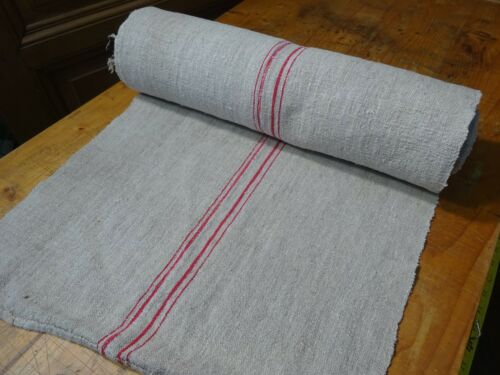 A Homespun Linen Hemp/Flax Yardage  11yds  x 21