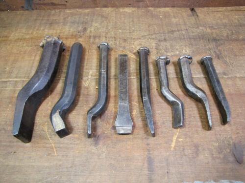 Lot of Vintage Plumbing Irons - Yarning/Caulking Chisels.