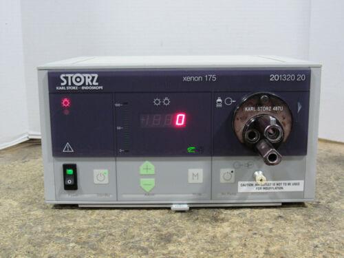Karl Storz Xenon 175 201320 20 Endoscope Light Source w/ 487U Turret Adapter