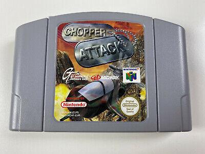 Chopper Attack - N64 Nintendo 64 PAL EUR