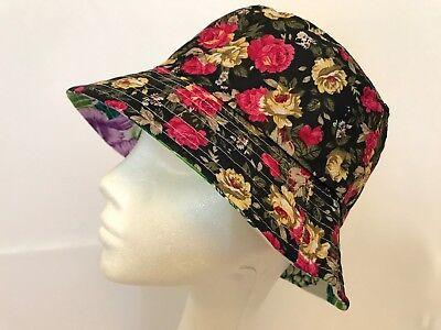 4a2d526c74b Bucket-Hat-Floral Hawaiian-Boonies-Hunting-Fishing-Outdoor-Men-Women Cap  black
