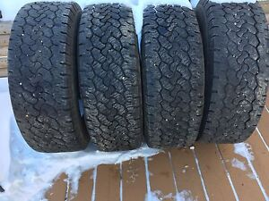 Set Of 4 Tires For Sale  LT265/70/R17 Load Range E