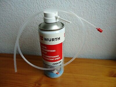 Wurth Air Conditioning Disinfection Spray 300ml With Hose