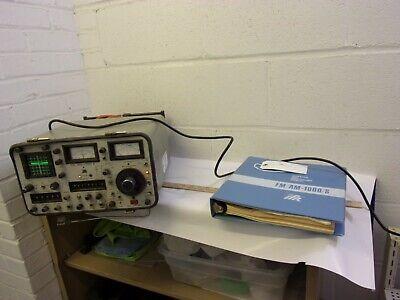 Aeroflex Ifr 1000 A Amfm Service Monitor Rf Signal Gen Oscilloscope Works