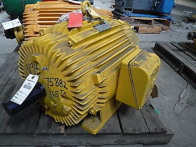 40 Hp Slip Ring Reuland Electric Motor 1200 Rpm 365tx Frame Tenv 460 V