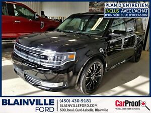 Ford Flex 2018 Limited, V6 3.5 L,Toit Pano, Navigation