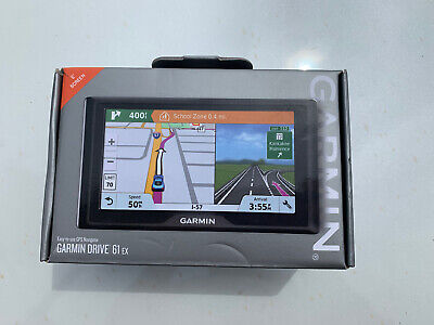 "NEW -- Garmin - Drive 61 EX 6"" Screen GPS Navigator"