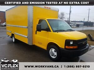 2012 GMC Savana G3500 16Ft V8 Gas - FOUR TO CHOOSE