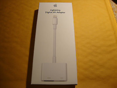 APPLE Lightning Digital AV Adapter to HDMI Port for iPhone 6 iPad Air MD826AM/A