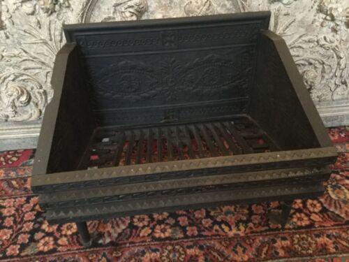 Vintage Fireplace Grate Logholder