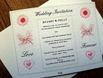 Claire's Wedding Invitations