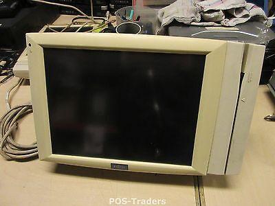 """Fujitsu 2000 FTP-LCC34/CC34L CA05812-B301 12"""" POS LCD Display INCL Stand & MSR"""