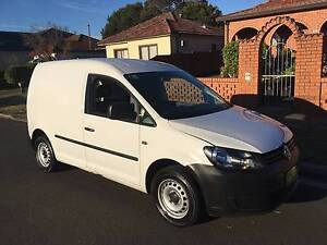 Volkswagen Caddy TDI250 2013 Automatic, Turbo Diesel, 1 owner! Lidcombe Auburn Area Preview