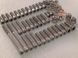 Triumph-Bonneville-T140-T120-Engine-covers-Allen-Bolt-Capscrew-kit-UNC-1968-up