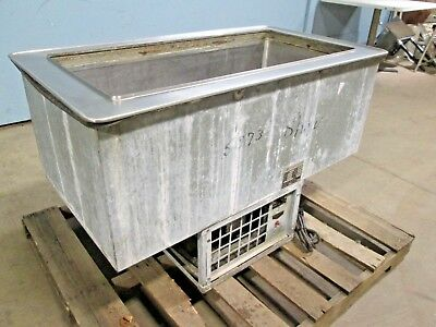 Atlas Metal Wdf 3 H.d. Commercial Ss Refrigerated Drop-in Cold Well Insert