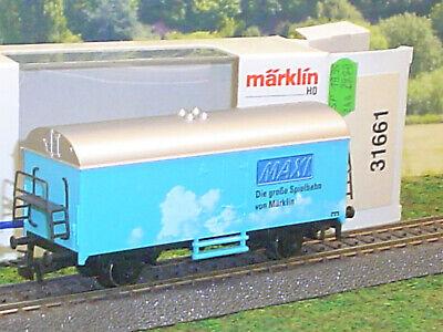Märklin SOMO Maxi Kühlwagen H0 HO Eisenbahn Güterwagen OVP 31661
