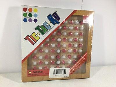 Tic Tac Ku Board Game Wood Board Mad Cave Bird Games