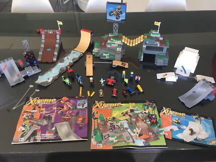 Mega Block Extreme Sports (Lego size pieces)