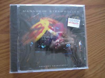 NEW SEALED MANNHEIM STEAMROLLER CHRISTMAS LIVE MUSIC CD ()