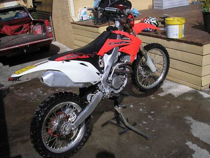 CRF 250 HONDA WITH VIC REC REGO