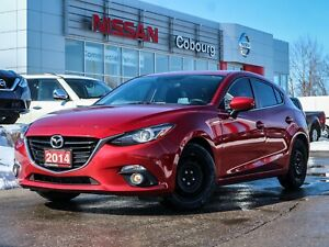2014 Mazda 3 GT-SKY Navi Sunroof Htd Seats FREE Delivery