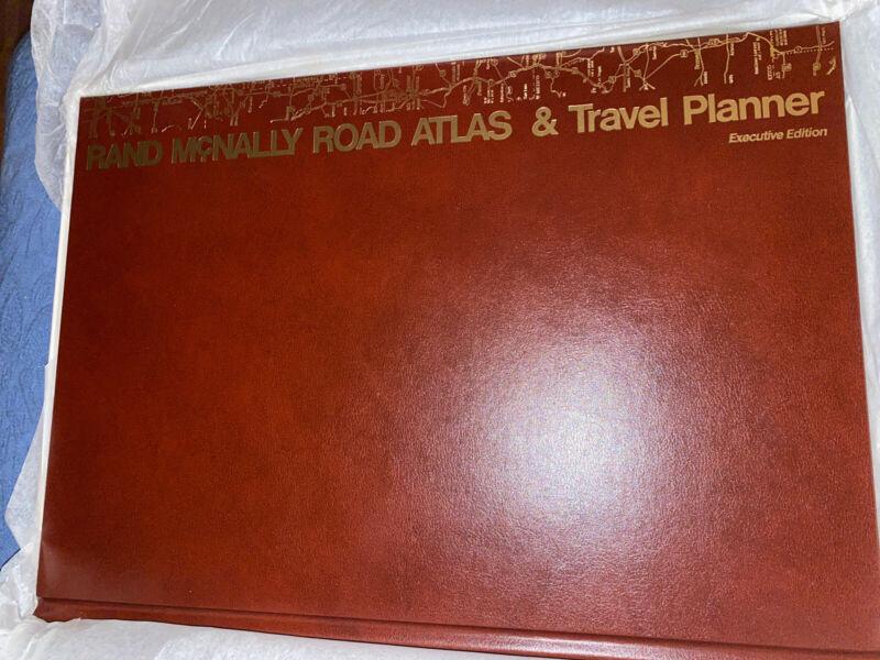 1982 Rand McNally Road Atlas & Travel Planner executive Edition (McNally Signed)