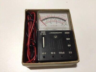 Vintage Micronta Radio Shack 1000 Ohms Multitester