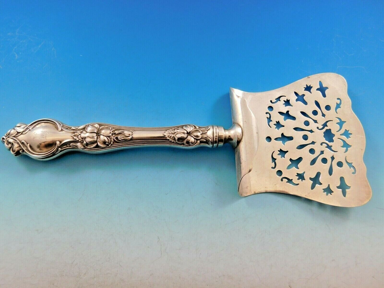 Violet by Whiting Sterling Silver Ice Scoop HHWS  Custom Made 9 12