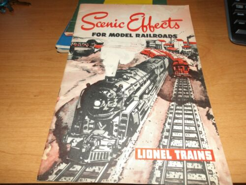 Lionel Trains, Scenic Effects for model railroads, 1946 Clean / complete, (D10)