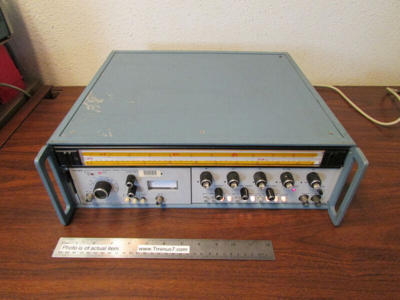 Singer Alfred Microwave Sweep Oscillator 6606D 6600 Mainframe Tested