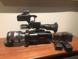 Sony NEX VG900 camcorder with 18-200mm and extras