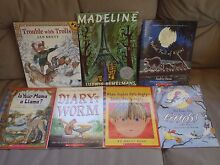 7 Books - Madeline, Trouble with Trolls, Diary of a Worm, etc Applecross Melville Area Preview