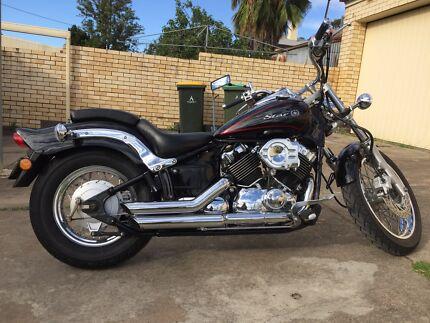 Yamaha XVS650 Custom Lobethal Adelaide Hills Preview