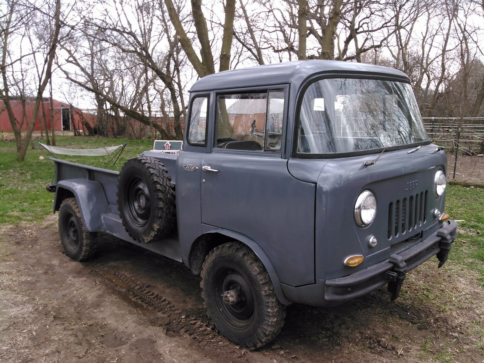 1958 willys overland fc170 jeep used willys other pickups for sale in mukwonago wisconsin. Black Bedroom Furniture Sets. Home Design Ideas