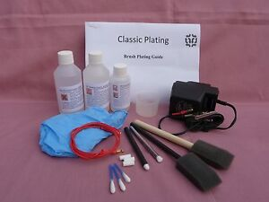 Bright Gold Brush Plating kit for Jewellery and antique repairs