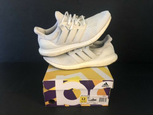 Adidas Ultra Boost 1.0 2015 S77416 Triple White NO RESERVE Men's Size 12