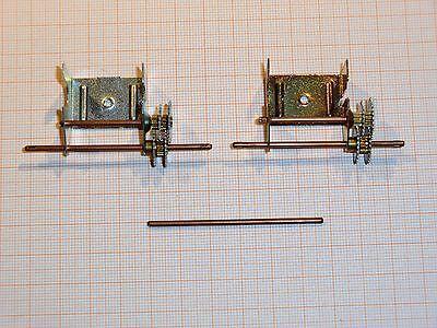 Konvolut Metall-Getriebeteile für Panzer, Maßstab 1:48, für Bastler - A840/B15