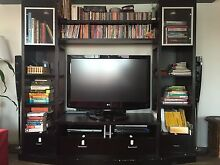 Entertainment Unit + space for books, CD, DVD North Strathfield Canada Bay Area Preview